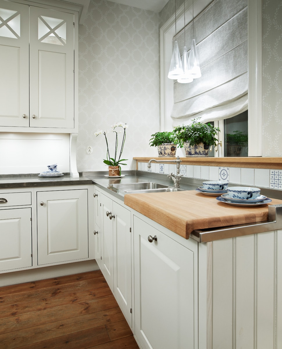 Bolmen in white - Sola Kitchens | Sola Kitchens