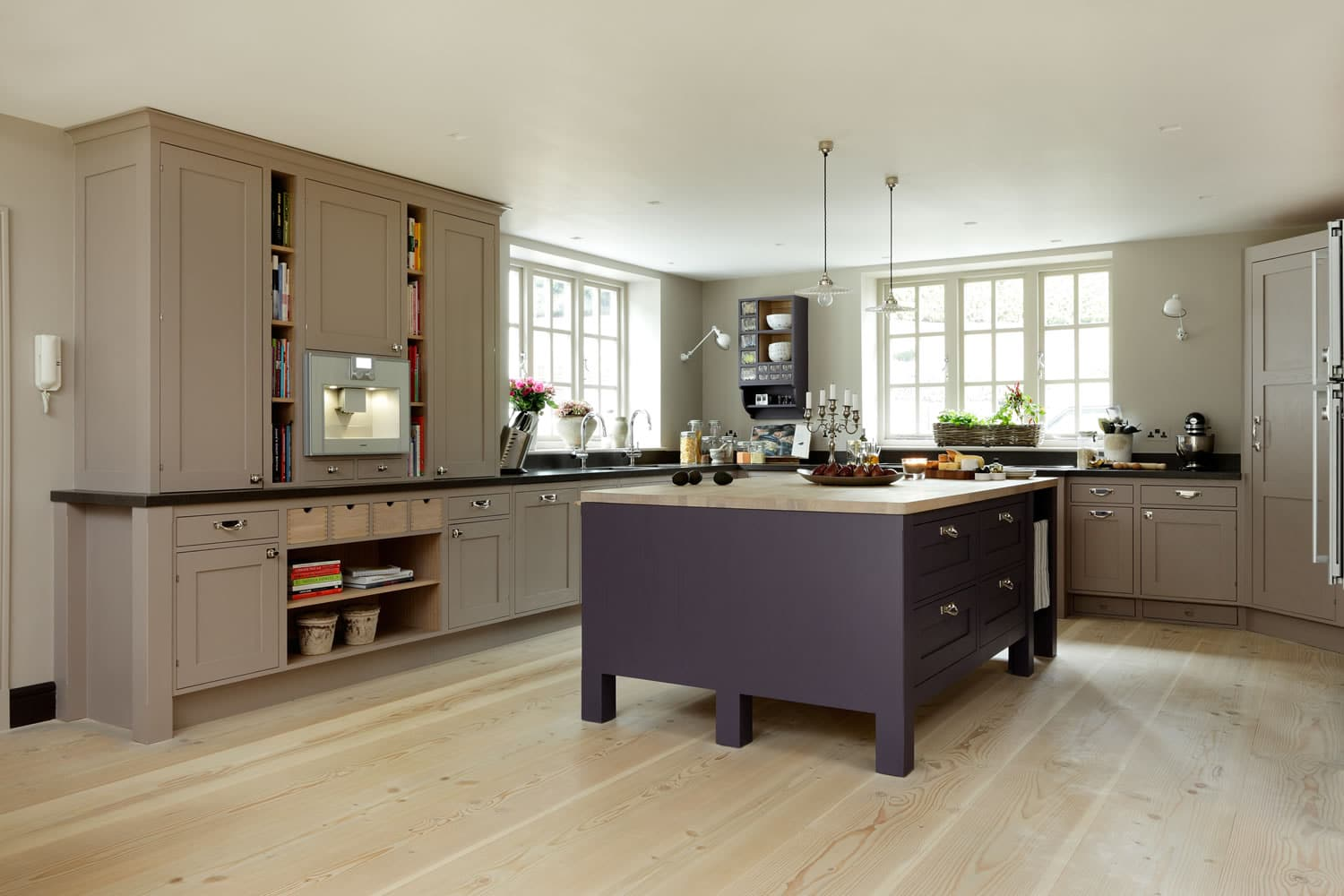 Frillen in Aubegine and Mink - Sola Kitchens | Sola Kitchens