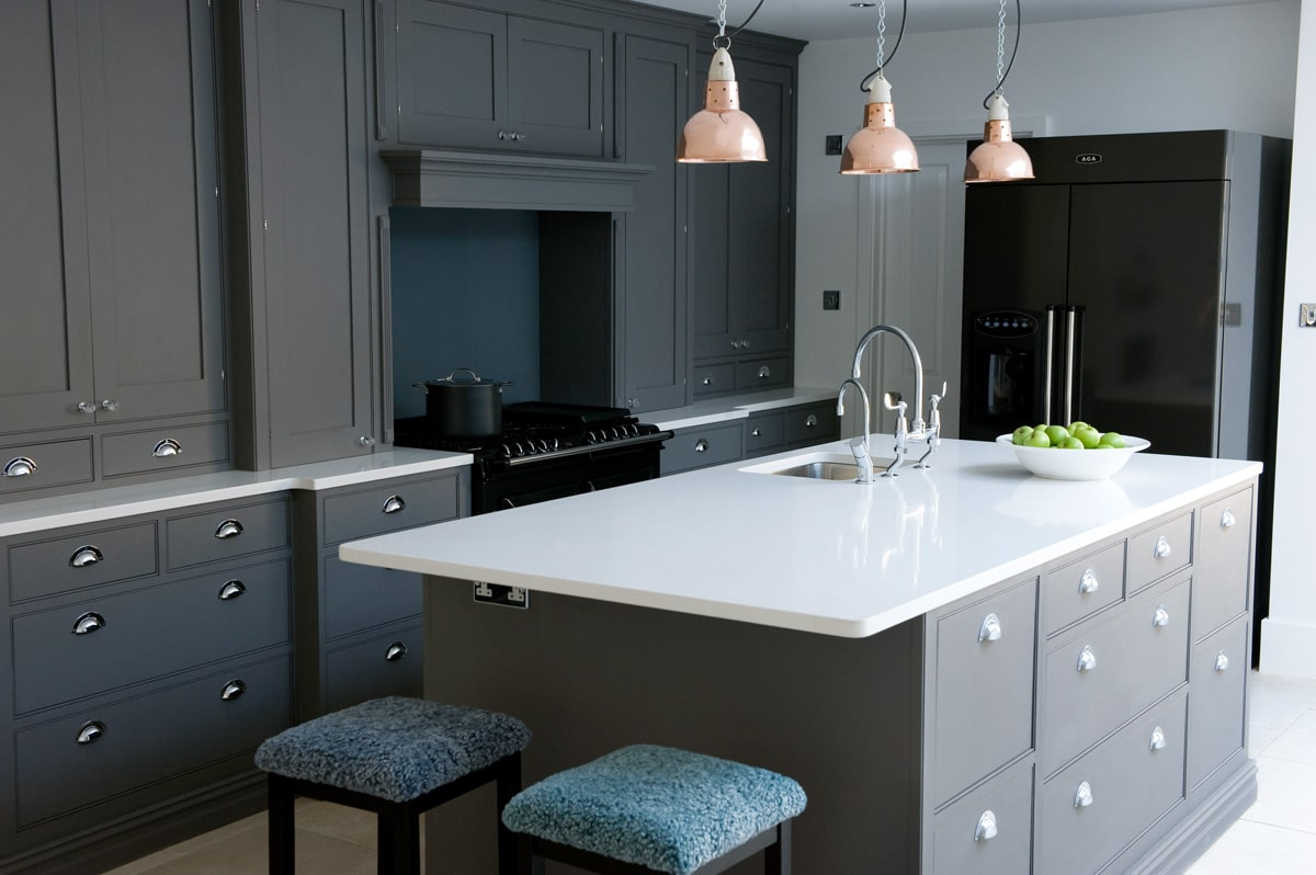 Newport In Dark Grey Sola Kitchens Sola Kitchens