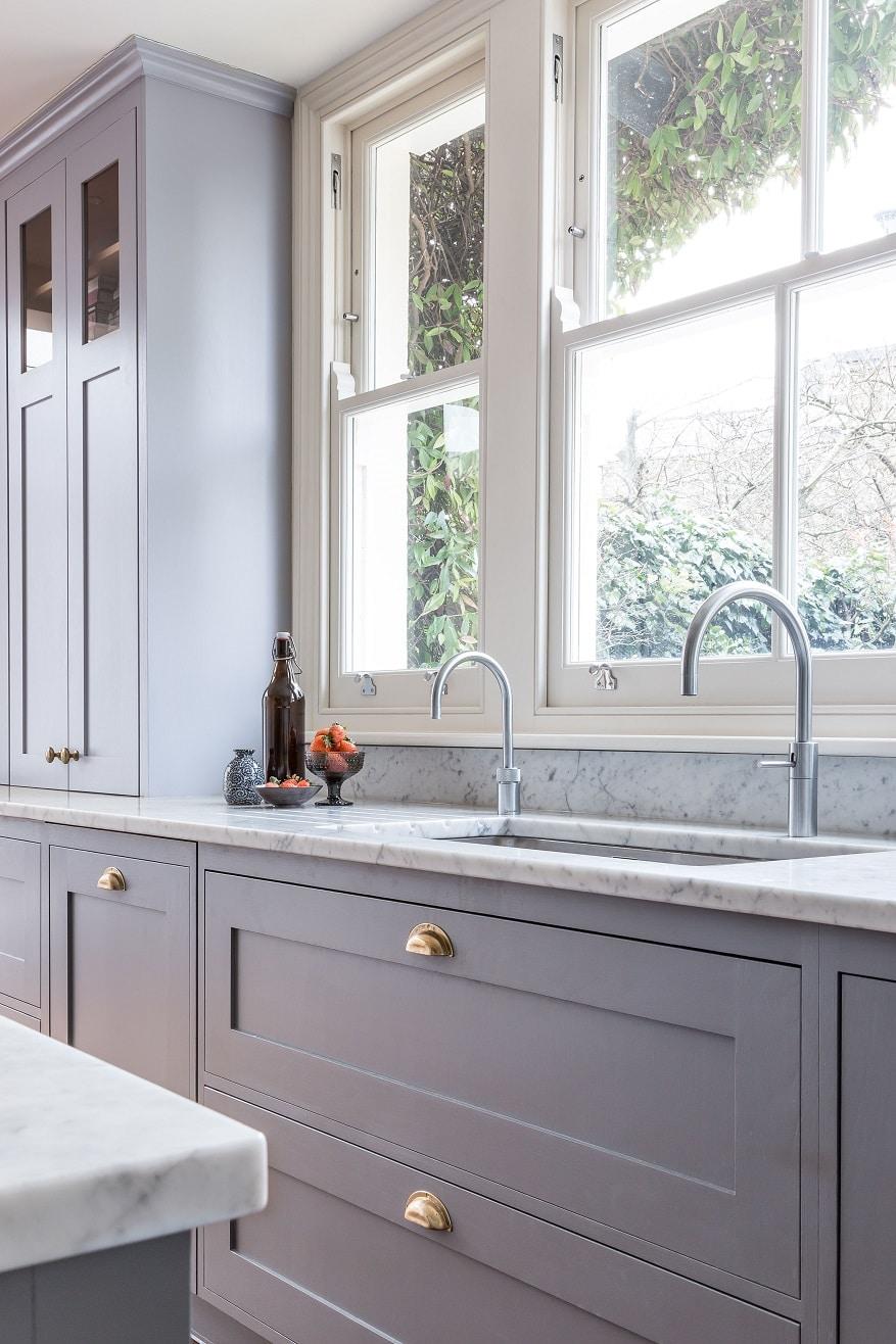 Frillen In Grey And Brass Sola Kitchens Sola Kitchens