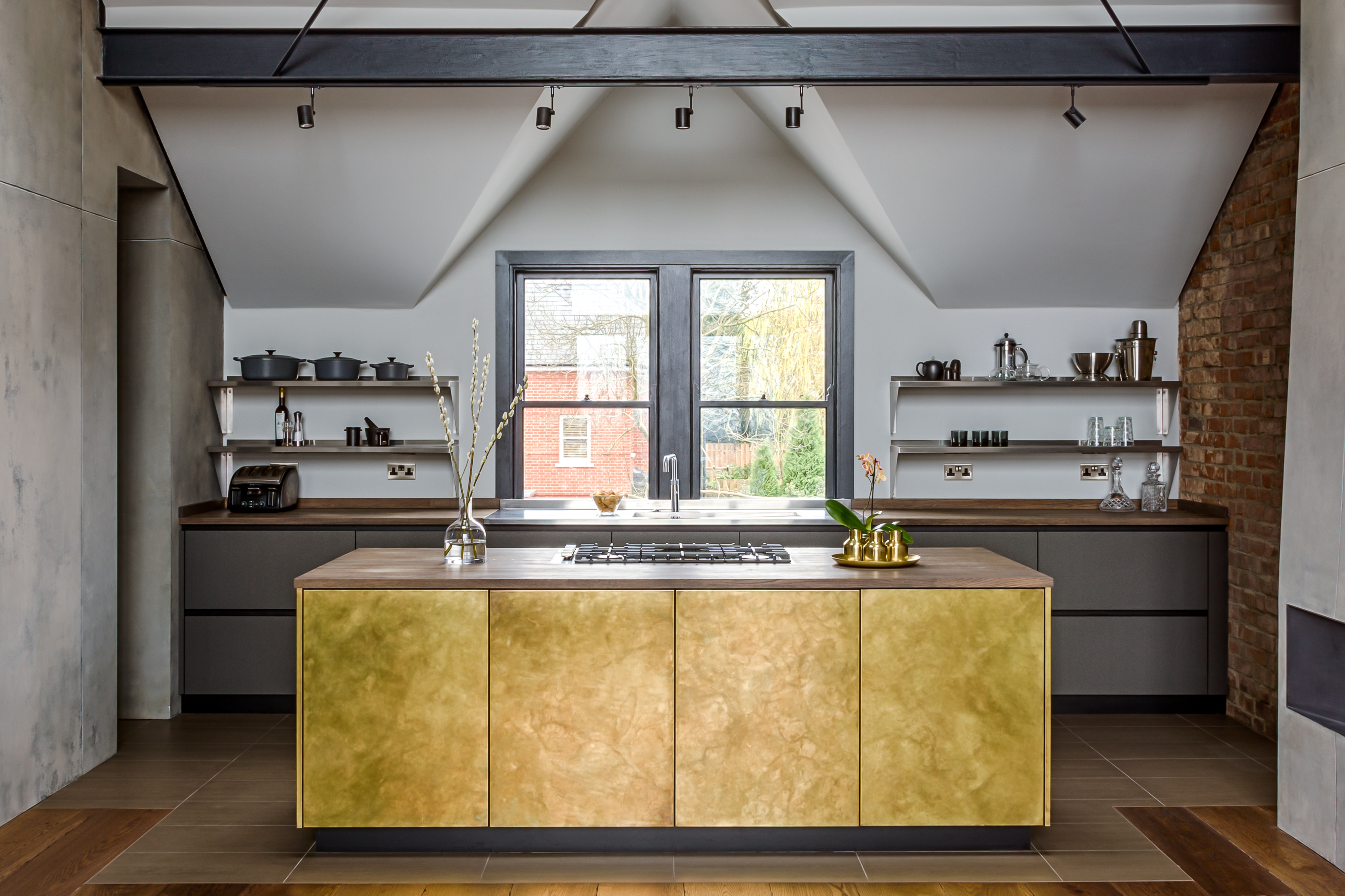 Form 6 Burnished Brass Sola Kitchens Sola Kitchens